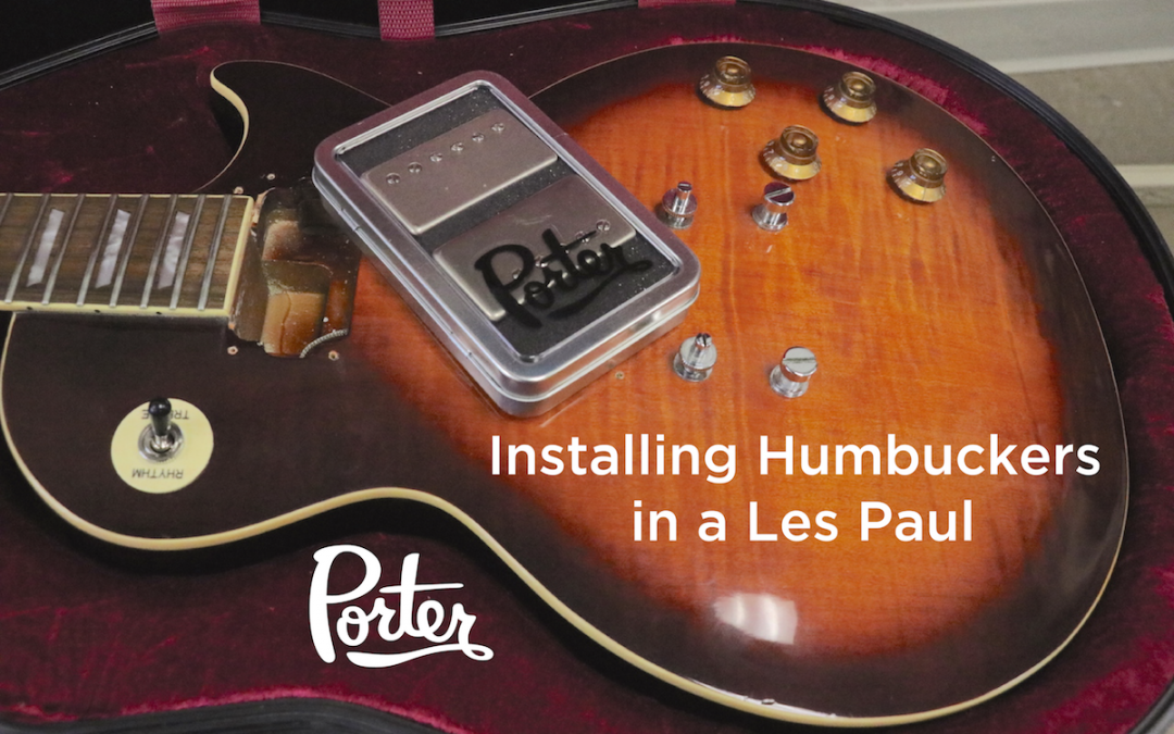 New Video: How to Install Humbucker Pickups