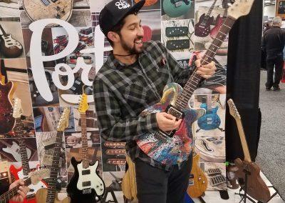 The paint guitar